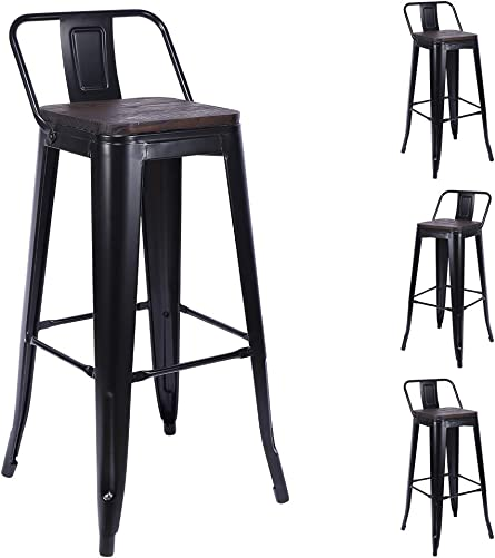 H JINHUI 30 Inch Bar Stool