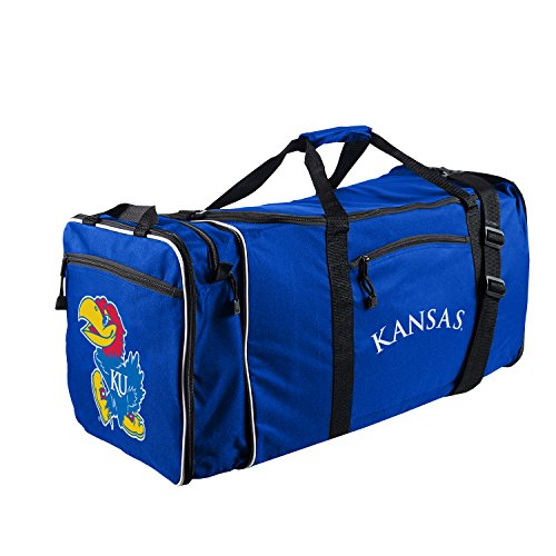 Kansas Jayhawks Duffle Bag - 1