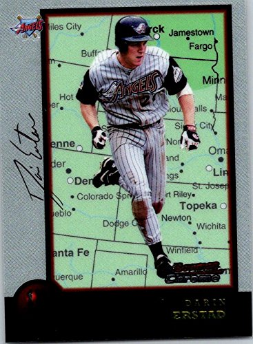 1998 Bowman Chrome International #47 Darin Erstad Los Angeles - International Flat Rate Prices Shipping