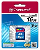 Transcend 16 GB Class 6 SDHC Flash Memory Card TS16GSDHC6