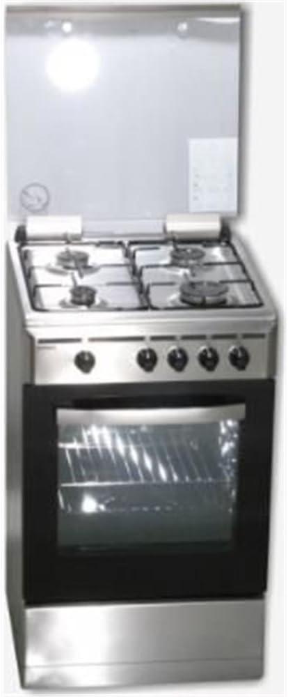 Cocina Gas Rommer VCH456INOXBUT: Amazon.es: Grandes electrodomésticos