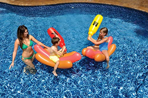 Swimline Hotdog Battle Pool Float