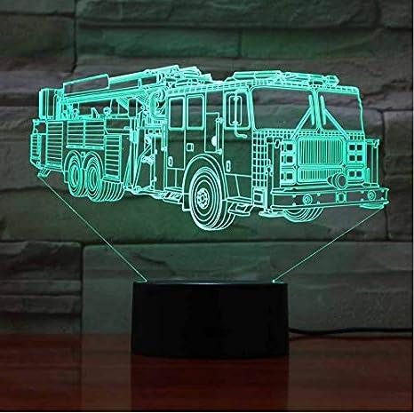 Bus lámpara de escritorio LED multicolor Luz de Noche ...