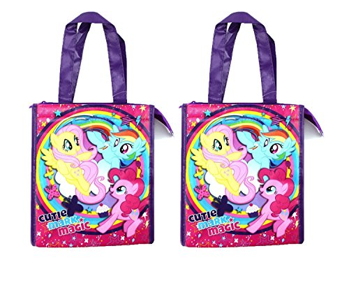 My Little Pony Soft Insulated Tote Lunch Box bag (2) -