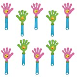 MagiDeal 10x Party Favours Noisemakers Hand Clappers 11inch for Concert Sports Games Party Cheering Props Random Color