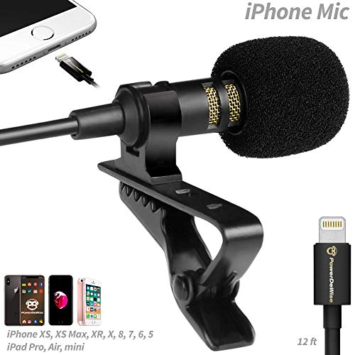 PowerDeWise Microphone for iPhone with Lightning Connector -