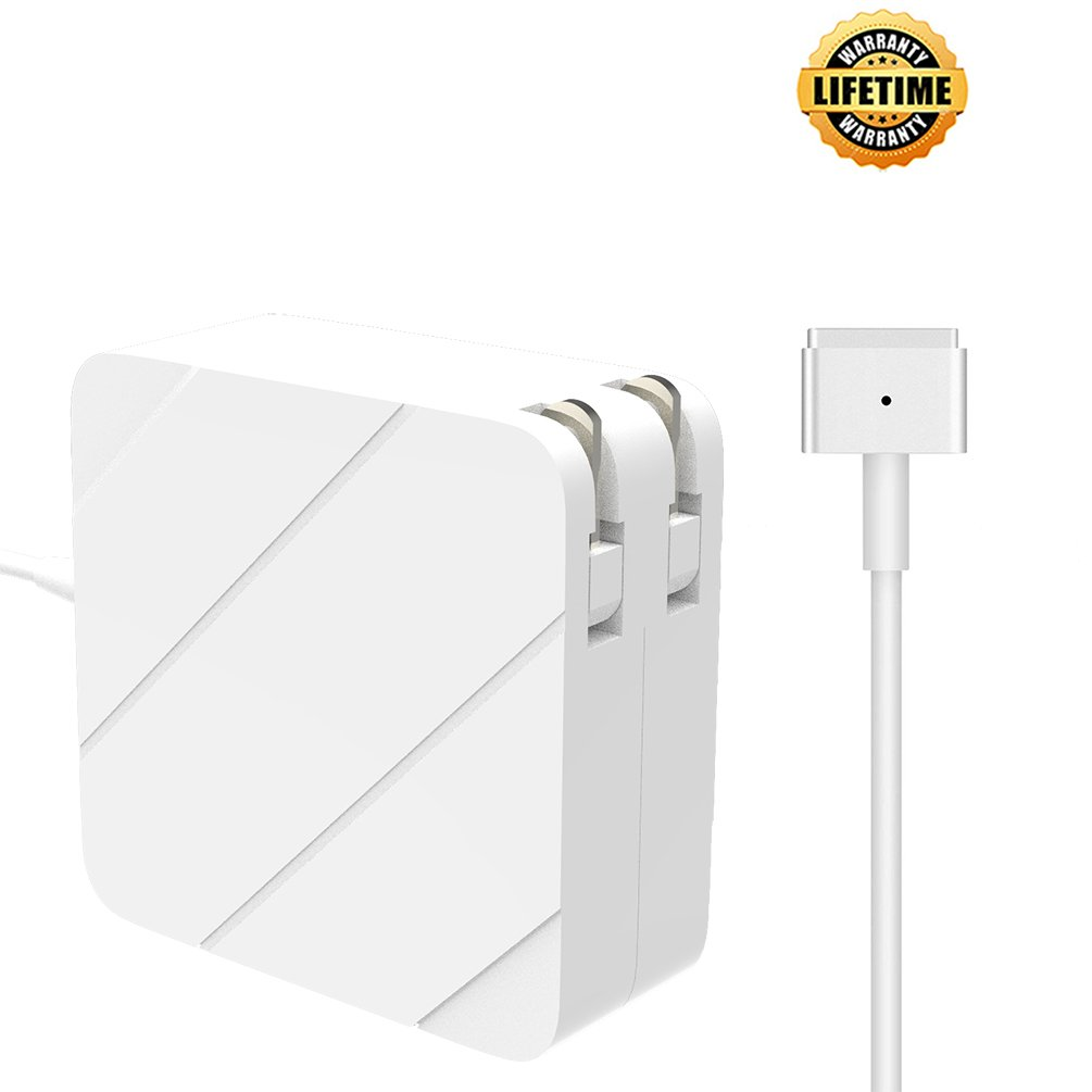 MacBook Air Charger,Replacement 45W MagSafe 2 Power Adapter Magnetic T-Tip Ac Charger for MacBook Air 11-inch and 13-inch (45W)