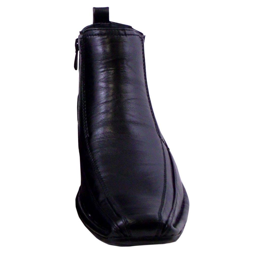 Textured Spiffy Mens Dress Shoe BLACK