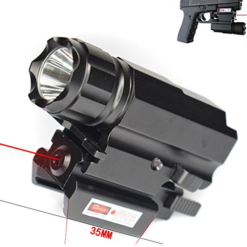 low profile tactical sight combo - 7