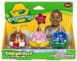 : Crayola 3ct. TaDoodles Washable Tub Crayons (Dog, Pig, Elephant)