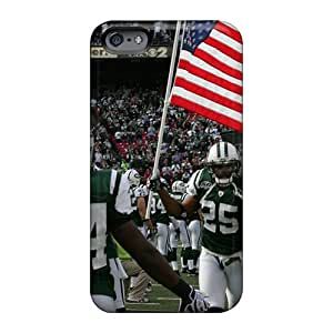 JohnPrimeauMaurice Apple Iphone 6 Shock-Absorbing Hard Phone Case Provide Private Custom Stylish New York Jets Skin [KnG26227AqZD]