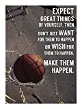 Make It Happen by Sports Mania Art Print, 15 x 20 inches
