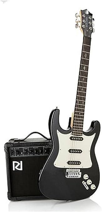 Randy Jackson edición limitada de diamante hecho a mano Guitarra eléctrica 20 piezas paquete ~ nacarado negro: Amazon.es: Instrumentos musicales