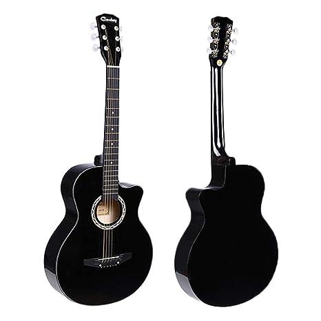"JJOnlineStore - Guitarra de 38 "", Guitarra acústica ..."
