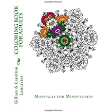 Coloring book for Adults: Mandalas for Mindfulness (Coloring Books for Adults) (Volume 2)