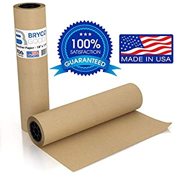 1000-Feet Roll 18-Inch Treated Peach Paper SafePro PCH18
