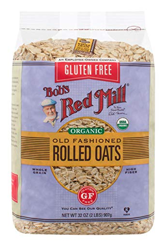 (Bob's Red Mill Gluten Free Organic Old Fashioned Rolled Oats, 32 Ounce)