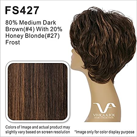 Amazon.com : Vivica A. Fox COZY Heat Resistant Fiber, PS Cap Wig in Color 4 : Beauty