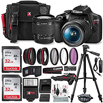 Amazon.com : Canon EOS Rebel T6 DSLR Camera Bundle with ...