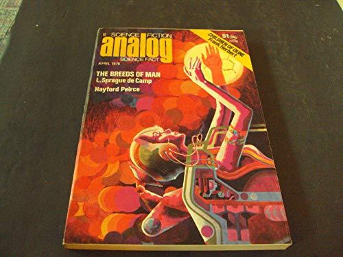 Analog Science Fiction Apr 1976 Hayford Peirce, Sprague de Camp ()