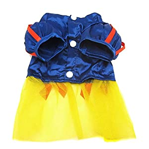 Alfie Pet Apparel by Petoga Couture - Snow White for Party Halloween Special Events Costume - Size: L
