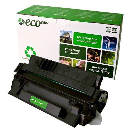 EcoPlus C4129X 29X Premium Remanufactured Black Toner Cartridge for HP LASERJET 5000, 5100, Canon FP300, FP400, GP160F, LBP1610, LBP1620