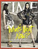 TIME STYLE & DESIGN MAGAZINE (Spring 2007) COVER PHOTO: COCO ROCHA & DU JUAN + LOOKING INTO THE FUTURE OF 21st CENTURY STYLE