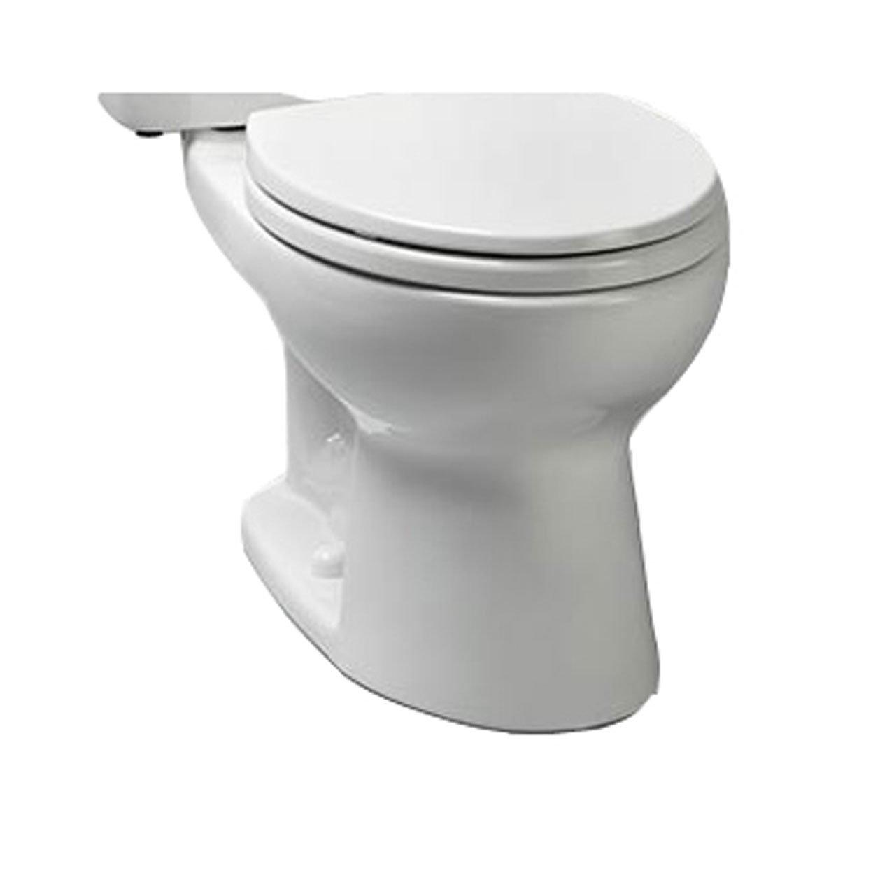 Toto CST744ELN#01 Eco-Drake Ada Elongated Bowl Toilet, Cotton by TOTO