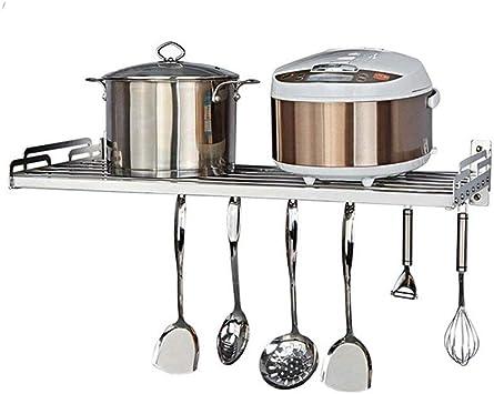 Amazon.com: GOHHK - Estantería para horno de microondas, de ...