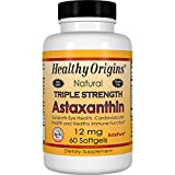 Healthy Origins Astaxanthin Triple Strength Gels, 60 Count