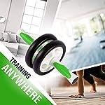 Ultrasport-Attrezzo-per-Addominali-AB-Roller-Trainer-AB-incl-Supporto-per-le-Ginocchia-Allenamento-Addominali-per-Uomini-e-Donne-anche-per-Persone-Anziane-Trainer-Muscolare-Pieghevole