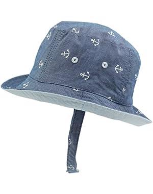 Baby Tollder Boys Bucket Hat Sun Protection Hat Summer Outdoor Cap