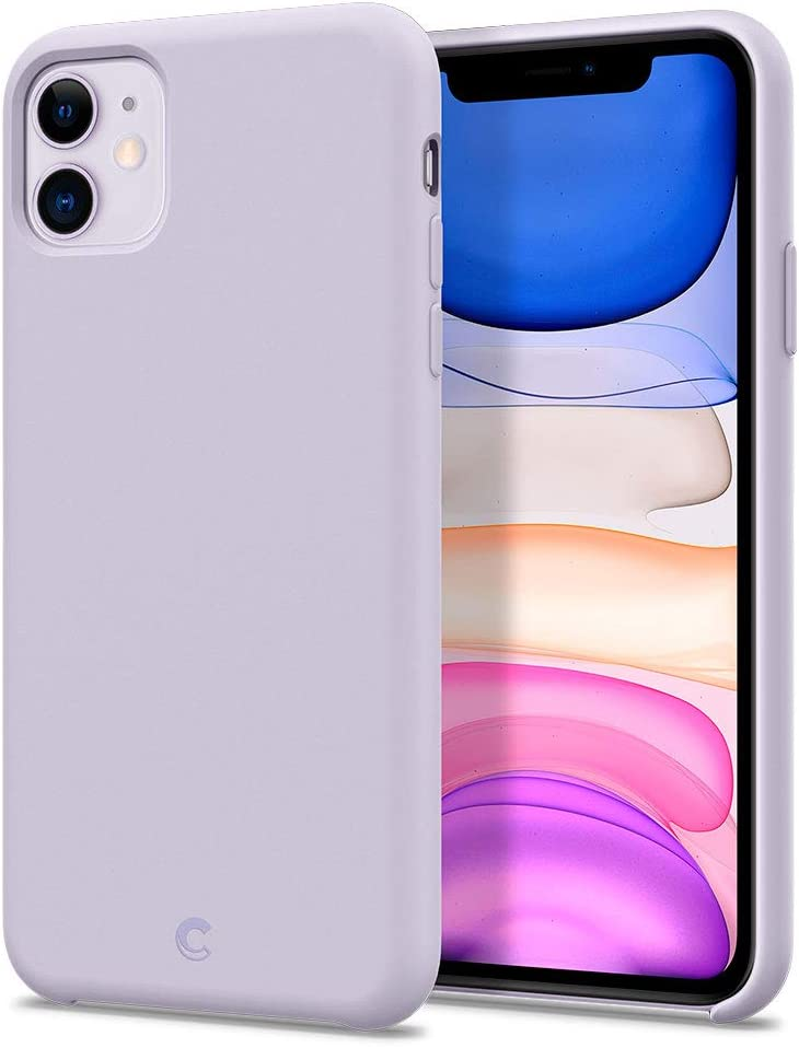 CYRILL Silicone Designed for Apple iPhone 11 Case (2019) - Lavender