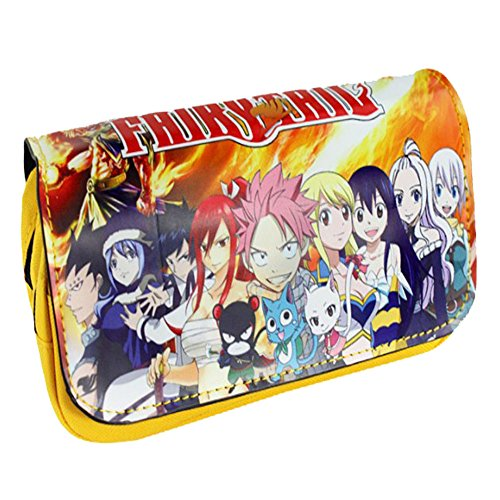 anvas Large Capacity Pencil Bag Anime Stationery Bag (C) ()