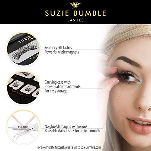 Amazon.com : Magnetic Eyelashes for Natural Look; Ultra Thin Full Eye Magnetic Lashes create Superior Eyelash Hold & Longevity : Beauty