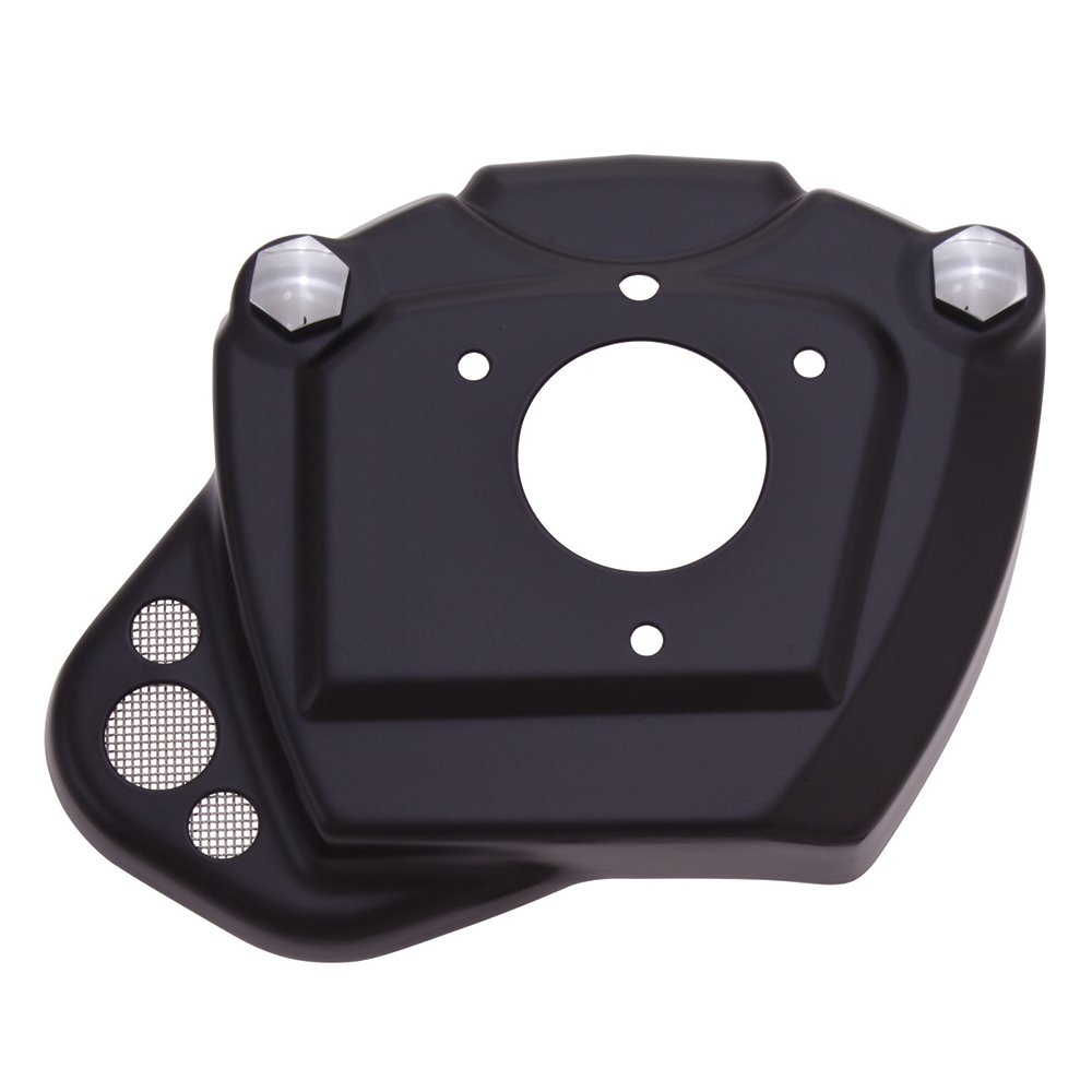 Ciro 35130 Black Throttle Body Servo Cover with Breather for 2014-2016 Harley-Davidson FL Touring Models