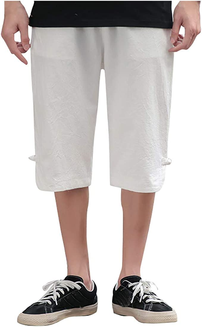 Alaso Short Homme Pantacourt Bermuda Chino Pantalons Court
