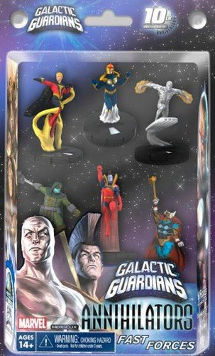 Marvel HeroClix Galactic Galactic Guardians Fast Forces Game Deluxe Starter Game Includes Includes 6 Figures B006QG7FOG, 亜熱帯からの贈り物。奄美市場:e480f256 --- 2017.goldenesbrett.net