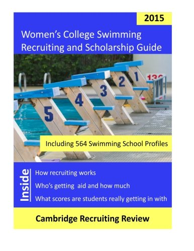 Women's College Swimming Recruiting and Scholarship Guide: Including 564 Swimming School Profiles