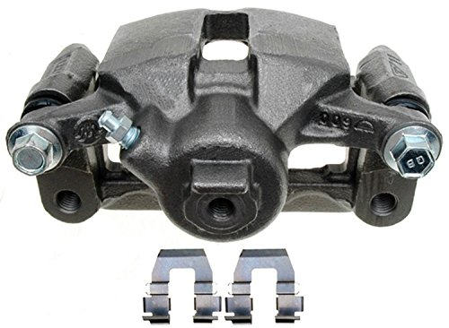 ACDelco 18FR1770 Professional Rear Driver Side Disc Brake Caliper Assembly without Pads (Friction Ready Non-Coated), Remanufactured ()