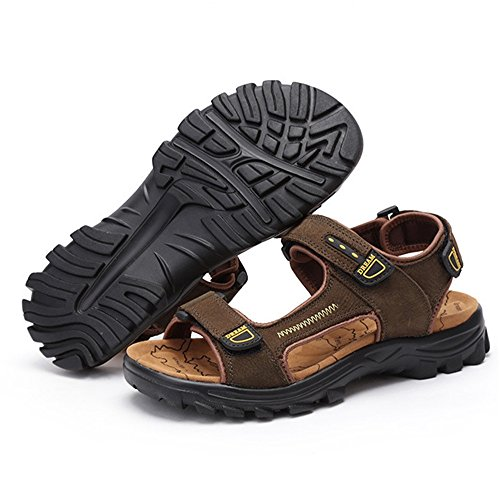 Men's Magic Marrone Shoe 0 Traspiranti Stick Outdoor Gialli 24 Sports Beach 27 Sandal Scarpe Sandali spiaggia 0 CM pantofole Wagsiyi da qR8XEE