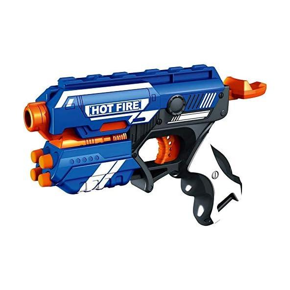 Rts Blasters Toy Guns Blaze Storm Foam Bullet Blaster Manual Toy Gun Includes 10 Bullets