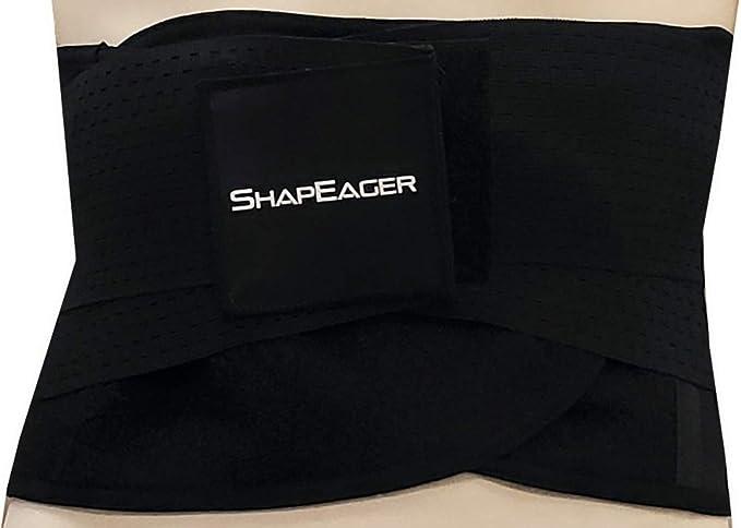 c3343e3b08 Sport Belt Waist Activewear Back Brace Shapewear Faja New Tecnomed Extreme  Latex Black