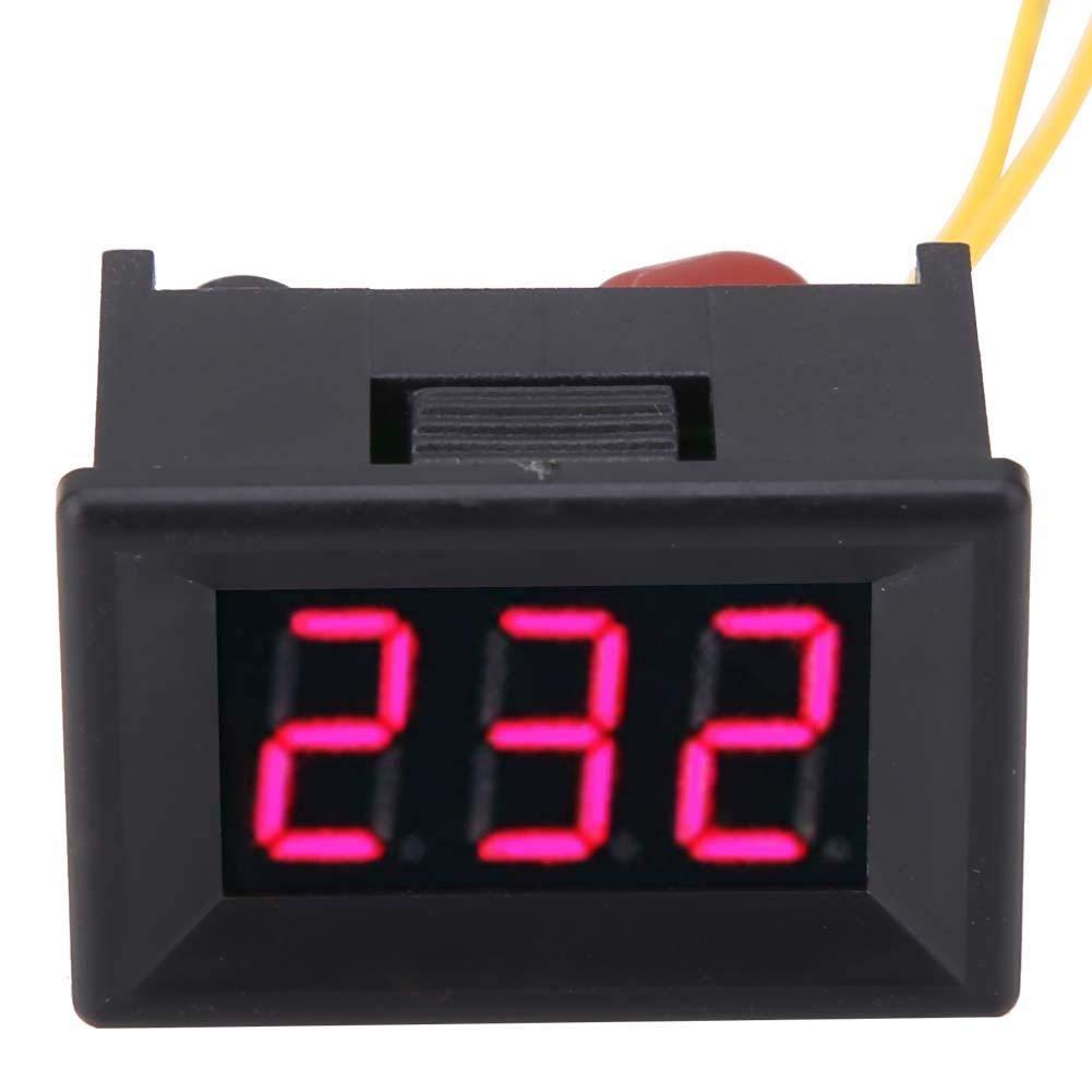 70-380V LED-Spannungsw/ächter 2Wire Working f/ür AC220V-Netzstromtest 0.36 /″ Digital Voltmeter Pannel Spannungs/überwachung von 220V-Generator und Wechselrichter