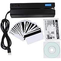 MSR605X USB 3-Track Magnetic Stripe Card Reader Writer Encoder ETEKJOY