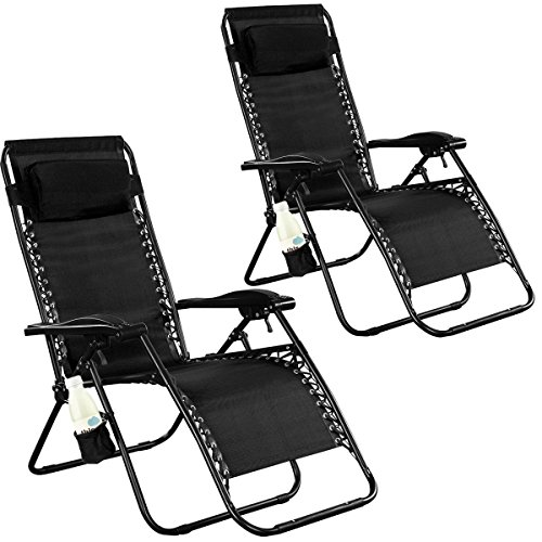 Xtremepowerus Gravity Adjustable Reclining Outdoor