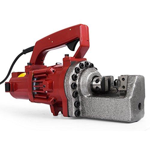 Happybuy 1250W Electric Rebar Cutter 3/4″ Hydraulic Rebar Cutter 110 V 20mm Rebar Cutter 3.5-4.5 Seconds Cutting