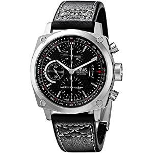 Oris Men's 0167476164154-0752258FC Analog Display Swiss Automatic Black Watch