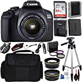 Canon EOS 2000D (Rebel T7) Digital SLR Camera with 18-55mm is II...