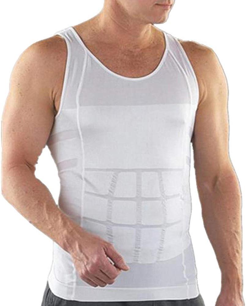 YOUCAI Intimo da Uomo Singlet Bodysuit Funzionale Sport Body Shaper Dimagrante Uomo Elastico Sculpting Underwear Canottiera da Uomo